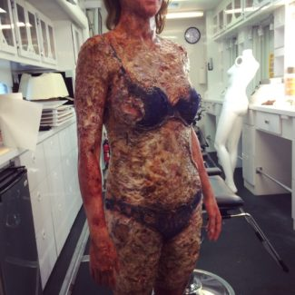 Code Black Burned Body Prosthetics  Vincent Van Dyke Effects