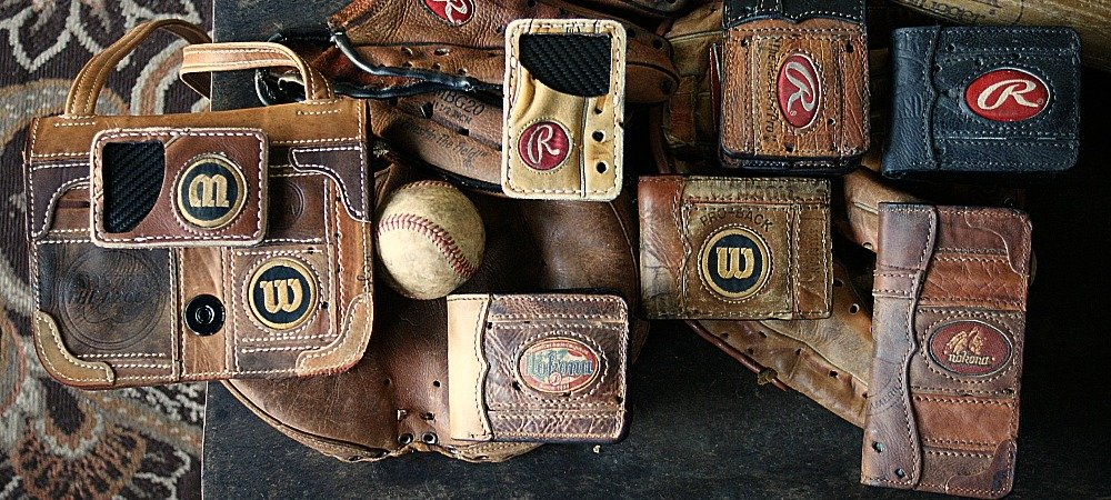 Send Us Your Glove: Baseball Glove Leather Items -- Wallets, Travel Cases
