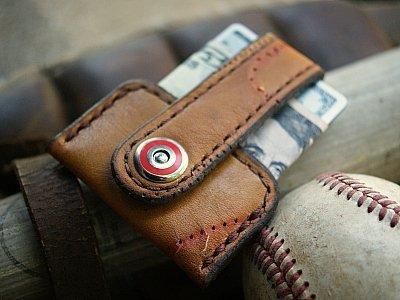 Broken-In Baseball Gloves Vvapor Wallet