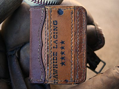 Baseball Card Bifold Wallet