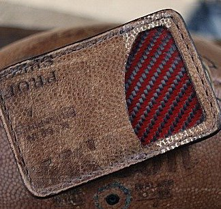 Front Pocket Football Leather Wallet-Vvault Series