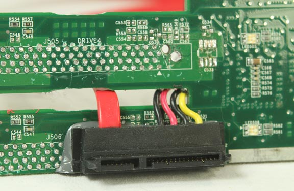 This Is The Back Side Of The Circuit Board After Removing The Back