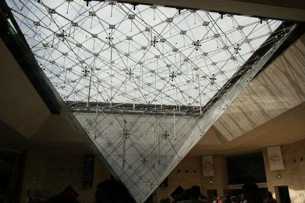 Carrousel Du Louvre Glass Pyramids