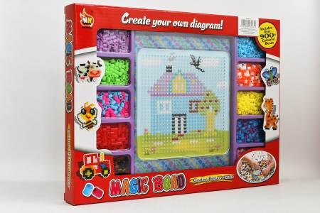 Perle-set-Magic-bead-hišica1