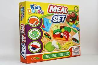 Plastelin-set-Kid's-dough-Meal-set1