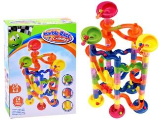 Konstruktor Marble Colored track poceni kocke konstrukcijske igrače