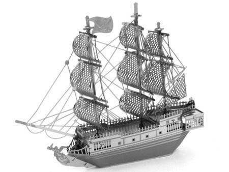 3D Kovinska sestavljanka ladja Black pearl nakup puzzle prodaja poceni