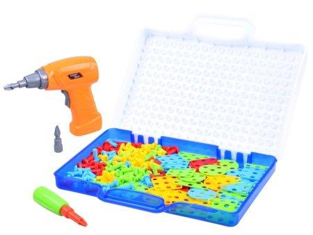 Kreativna igrača sestavljanka z vrtalnikom