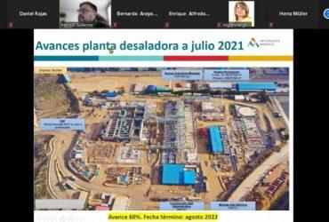 La relevancia de la desalinización en el futuro de Minera Los Pelambres