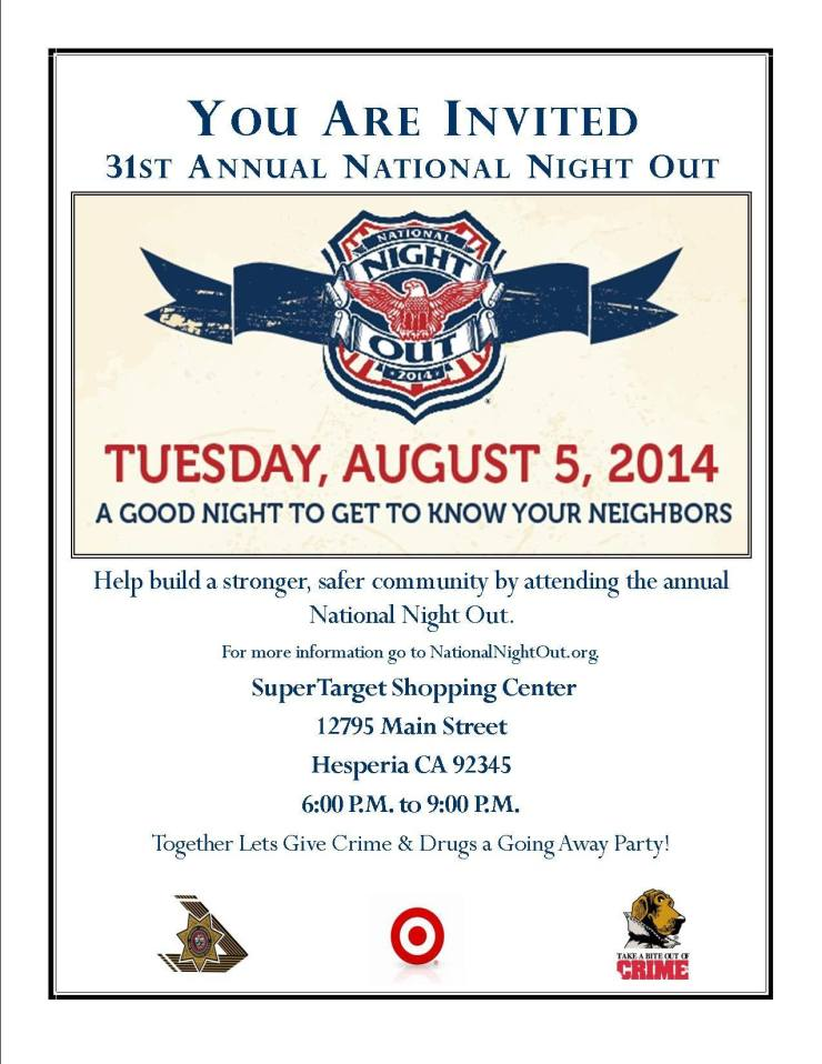hesperia national night out