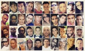 Collage of many of the Pulse Orlando, Fl shooting. (Manny Muro, Facebook)