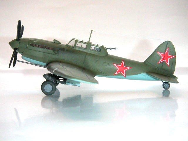 Modeling the VVS Sukhoi Su6 Models