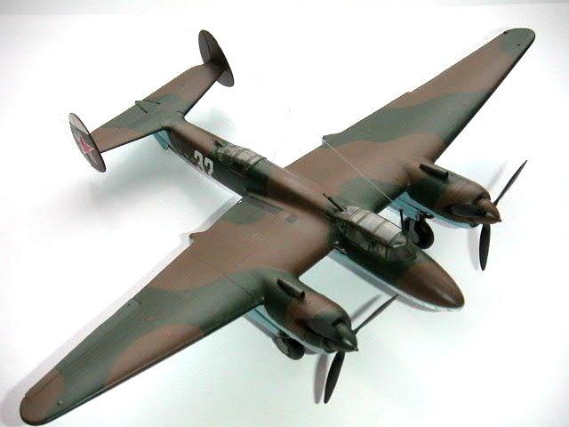 Modeling the VVS Tupolev Tu2