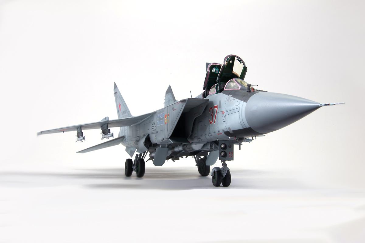 Mikoyan MiG-31BM 'Foxhound' – VVS modelling