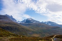 Another view of the majestic peaks of the Jotunheimen national park.