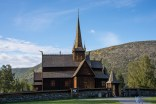 And guess what. If we had to abandon plans to visit Urnes stave church, we got to see the Lom one instead.
