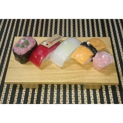 ★食キャン★お寿司キャンドルAセット(ねぎとろ・まぐろ・いか・たまごセット)