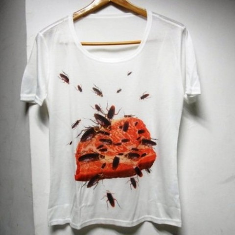 【オシャレもここまで来ました】オリジナルTシャツ 【ゴキ肉】