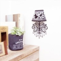 Wall Lamp Sticker Disney Girls  /
