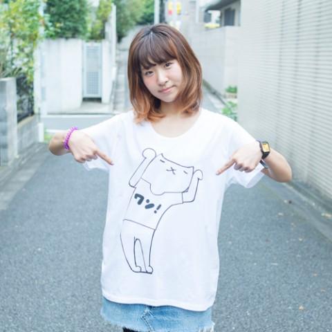 【BAYCAMP×VV】芦沢ムネト×HAJIME FANTASY『ワン』Tシャツ(ホワイトXLサイズ)【9月下旬発送予定】