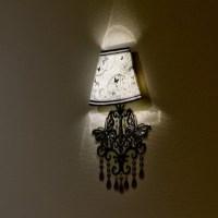 Wall Lamp Sticker Disney Girls  /   ...