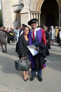Carlos Contreras and wife Noemi