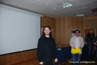 Francesco Mauro at his PhD defense