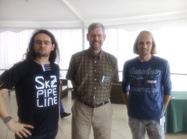 Concepción now and then: Francesco Mauro SkZ, Doug Geisler & Cristian Moni-Bidin