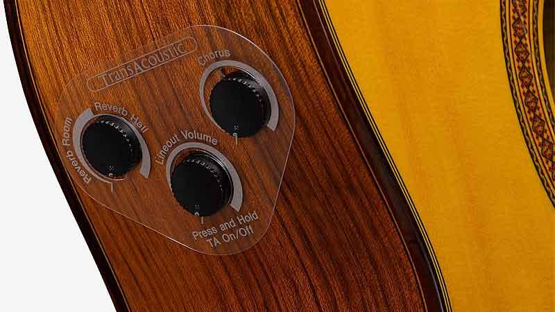 Трансакустическая гитара Yamaha