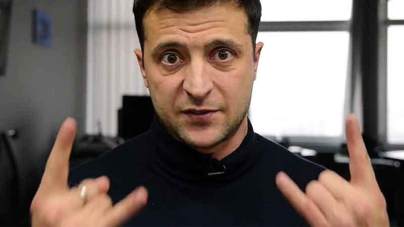 Зеленский, Владимир, президент Украины