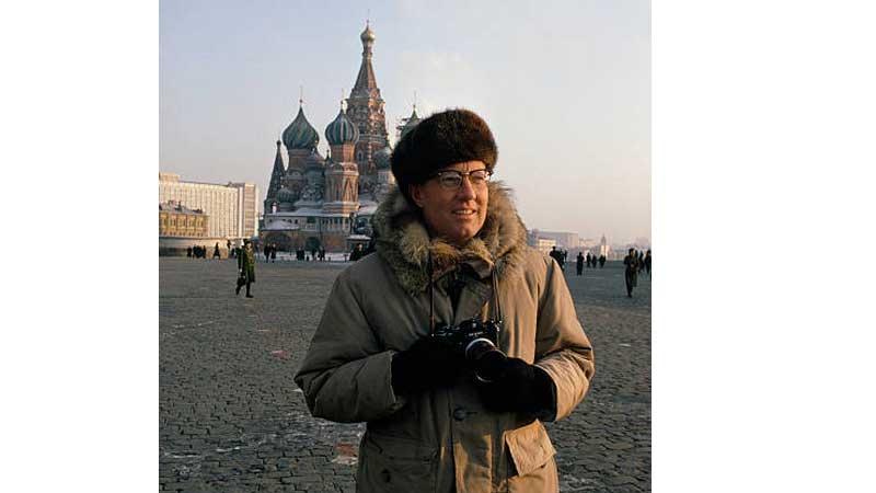 Дин Конгер на Красной площади