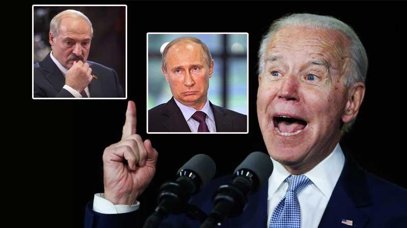 Путин, Лукашенко и первая гримаса нового президента США