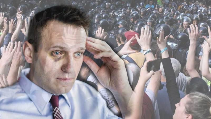Освобождение Навального. Шествие