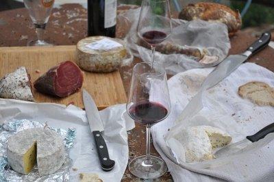 Lower Blood Pressure by Having A Wine and Cheese Party