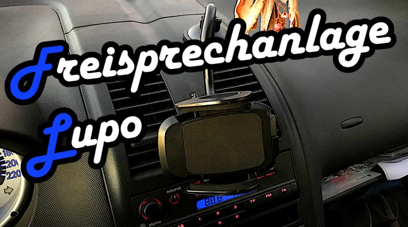Freisprechanlage Navigation Iphone Halterung FM Transmitter Radio USB VW Lupo reparieren tuning tips Google Maps FM-Transmitter Iphone Ladekabel USB Musik Kasette CD Iphonehalterung Huawei Samsung