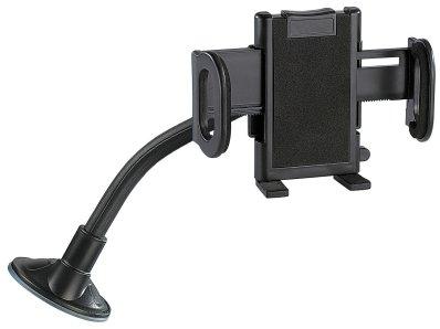 Handyhalter Schwanenhals Kfz-Halterung mit Schwanenhals für Smartphone, Navi und Handy (Schwanenhals Handyhalterung) Iphone Samsung Huawei VW Lupo Zubehör Freisprechanlage