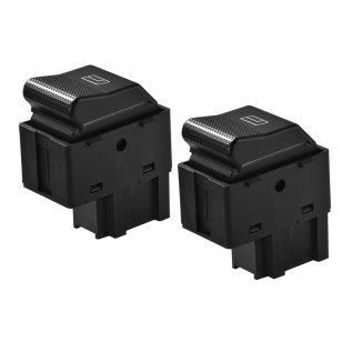 Schalter für elektrische Fensterheber - passend für VW Lupo - elektrischer Fahrer Beifahrer Seite Beifahrerseite defekt reparieren klicken austauschen