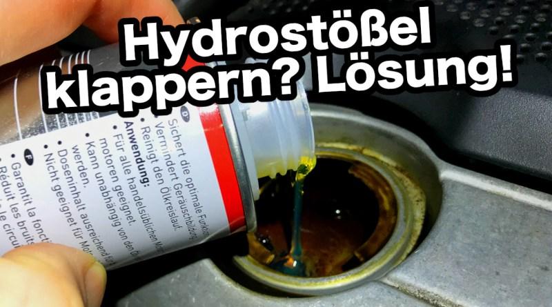 Hydraulikstößel Additiv, Motorenöl Additiv, Motoröl Zusatz, VW Lupo Golf Polo Passat Einfüllen, Hydraulikstößen, Tassenstößel