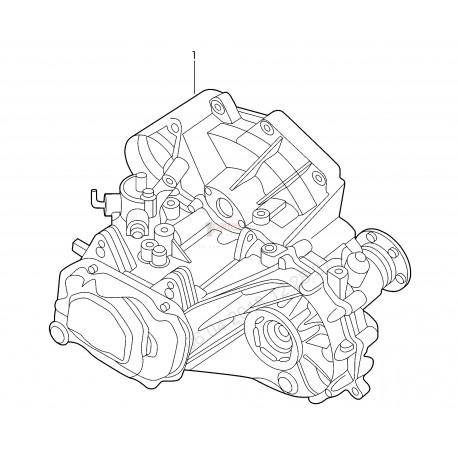 Transmisión (CAJA DE CAMBIOS)|Volkswagen VW|Gol|Fox