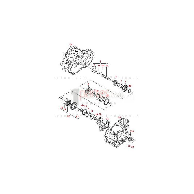 Rodamiento|Volkswagen VW|Jetta|Gol|Fox|Seat|Ibiza