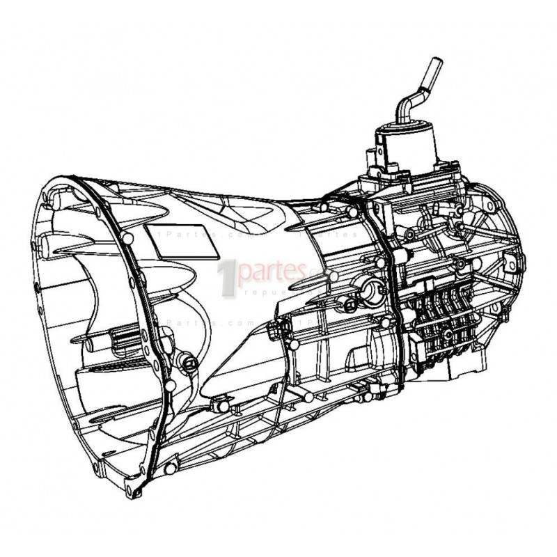 Transmisión (CAJA DE CAMBIOS)|Jeep|Liberty|Wrangler|Dodge