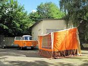 Baduras Volkswagen T2Bulli Seite  Westfalia Berlin