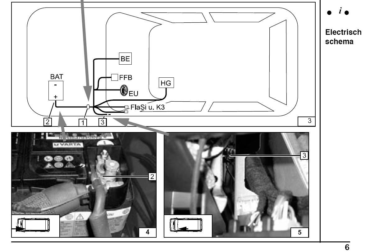 установка вебасто на транспортер т5