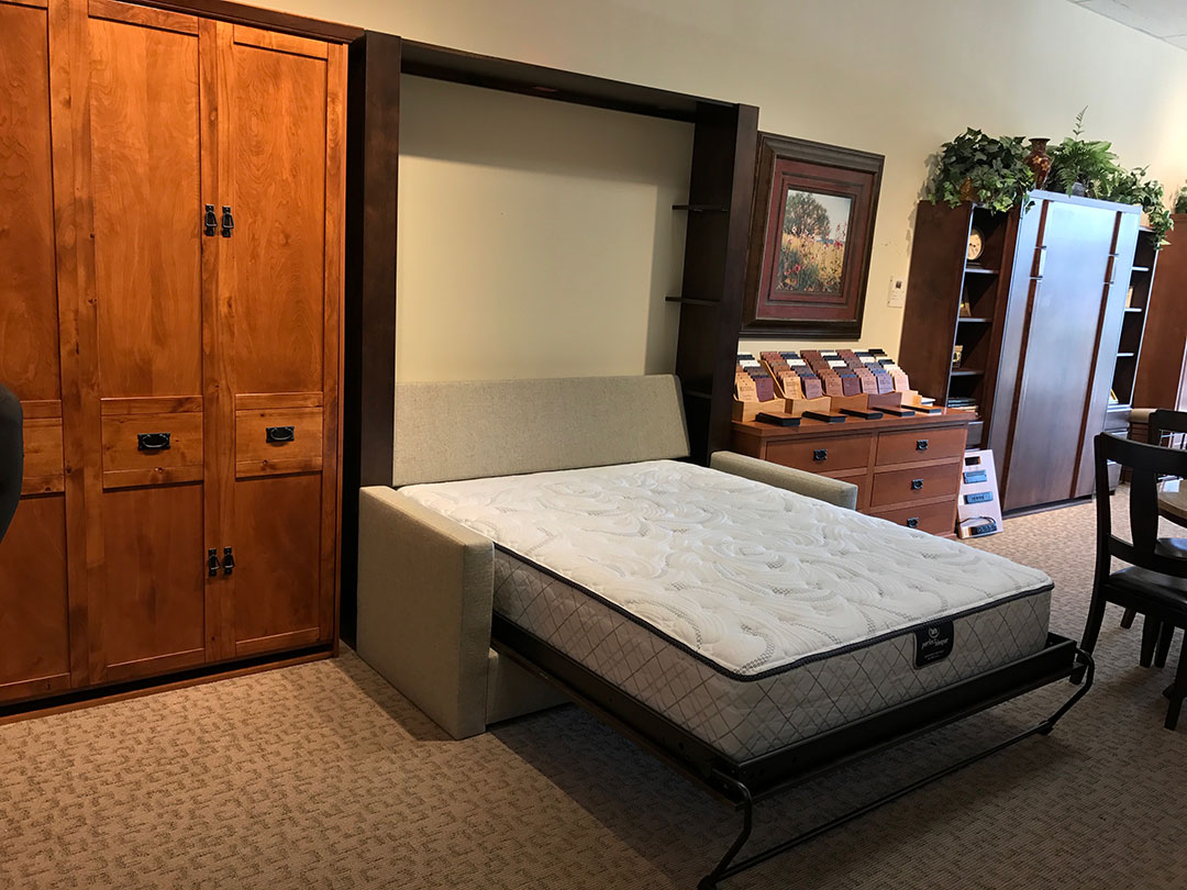 diy murphy bed over sofa leather recliner chino hills california wall beds and wilding