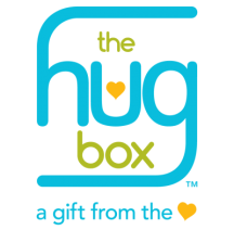 thehugbox™, a gift delivery service that sends a hug