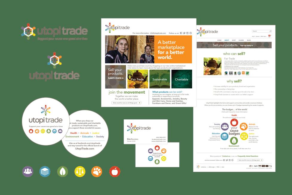 branding and design for utopitrade
