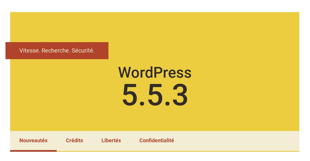 WordPress 5.5.3 – Une mise à jour de sécurité urgente