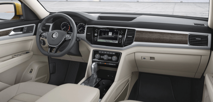 2019 VW Atlas Cross Sport Interior