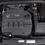 2019 VW Passat USA Engine