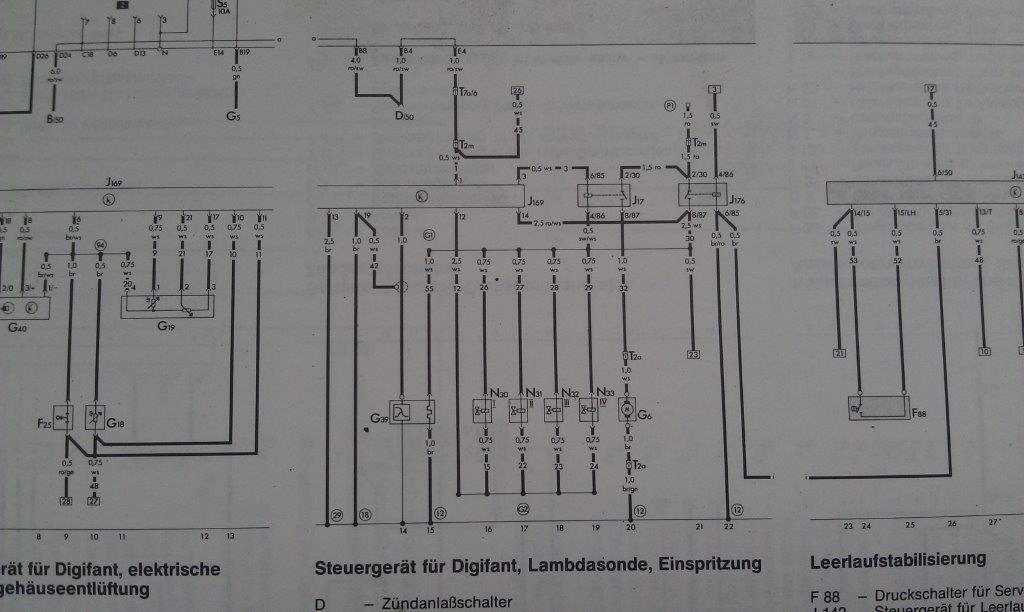 Stromlaufplan Polo 86c
